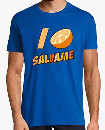 Camiseta Sálvame Naranja
