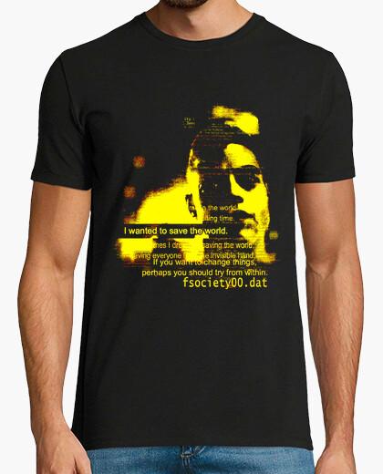 Camiseta salvar el mundo