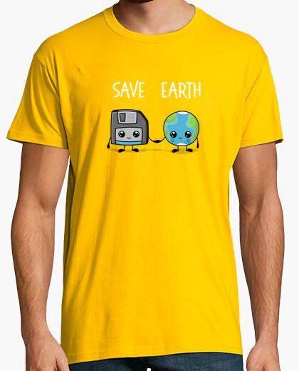 Camiseta salvar la Tierra