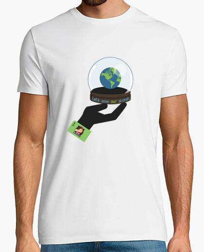 Camiseta salvar planeta