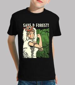 ¡salvemos el bosque!