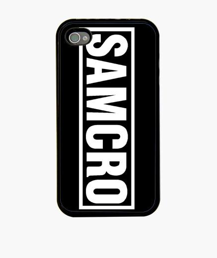 Funda iPhone SAMCRO blanco