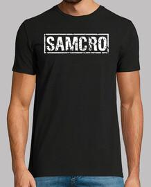 SAMCRO blanco desgastado