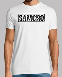 SAMCRO negro desgastado