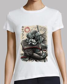 samouraï capitaine chemise femmes