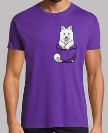 samoyedo de bolsillo - camisa para hombre