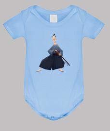 samurai - corps de bébé