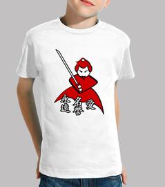 Samurai - Kanjis Eternidad, Honor, Amor