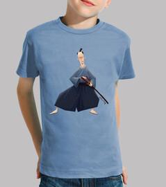 samurai - t-shirt bambino