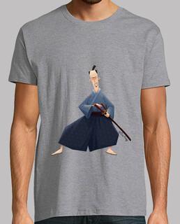 samurai - t-shirt da uomo