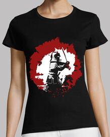samurai / japanese flag
