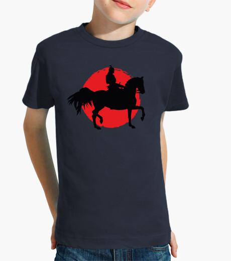 Ropa infantil Samurai a Caballo Bandera