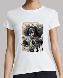 samurai bane camisa para mujer