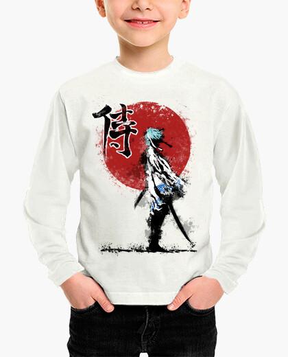 Ropa infantil samurai blanco