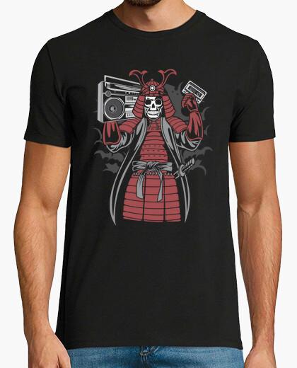 Samurai boombox t-shirt