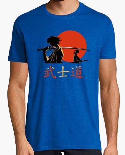 Tee-shirt samurai code guerriers bushido