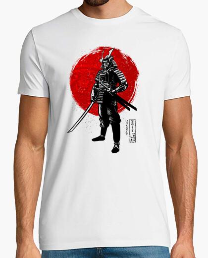 Camiseta Samurái con dos katanas