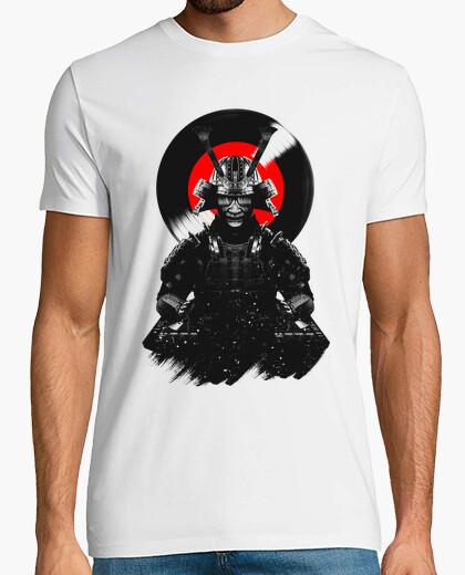 T-shirt samurai dj warrior