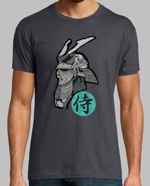 samurai hombre camiseta gris