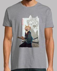 samurai hund. akita