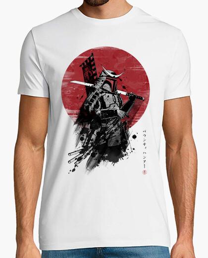 T-shirt samurai mandalorian