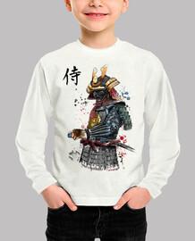 samurai watercolor