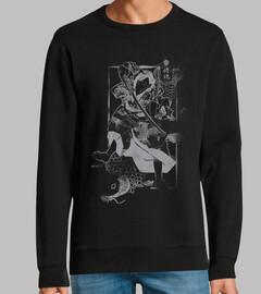 Samurai y Carpa Grey