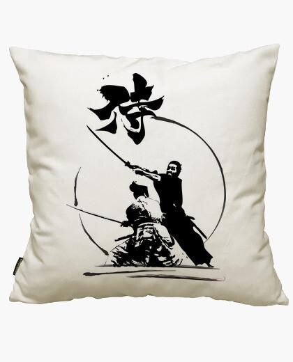 Funda cojín Samurais