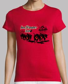 San Fermines Mujer Roja