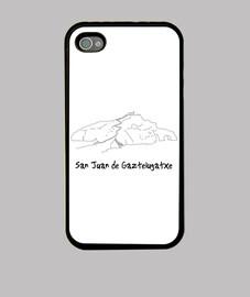 San Juan de Gaztelugatxe Funda iPhone 4, negra