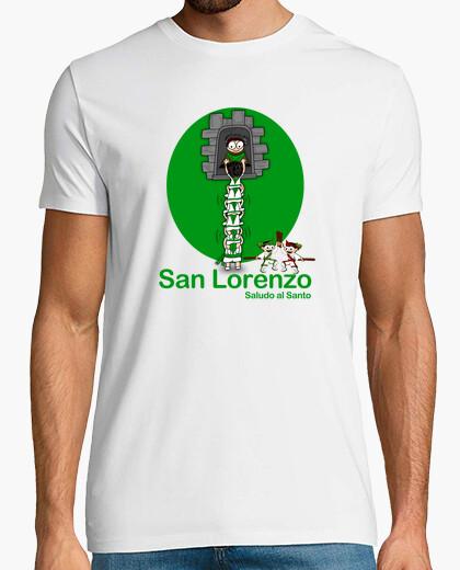 Camiseta San Lorenzo (Saludo al santo)