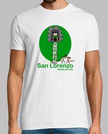 San Lorenzo (Saludo al santo)