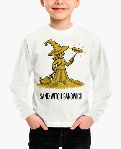 Ropa infantil Sandwich de bruja de arena v2