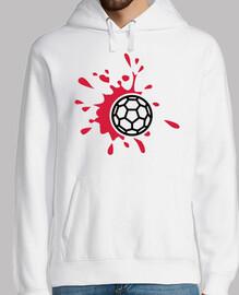 sang de handball