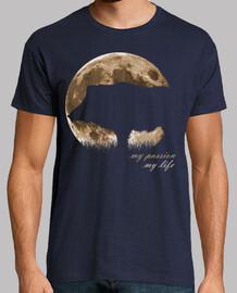 sanglier lune