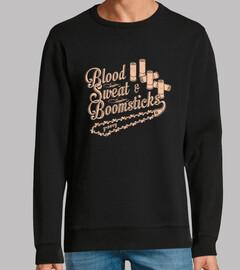 sangre, sudor y boomsticks