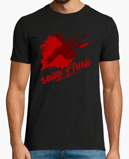 Camiseta Sangre y Fuego (hombre)
