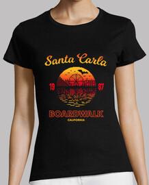 santa carla boardwalk camiseta para mujer