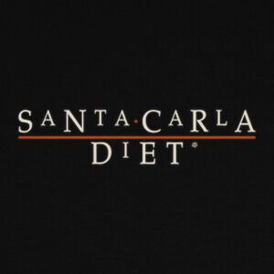 Camisetas Santa Carla Diet