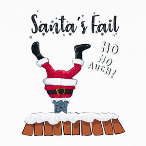 Santa Claus Fail T-shirts