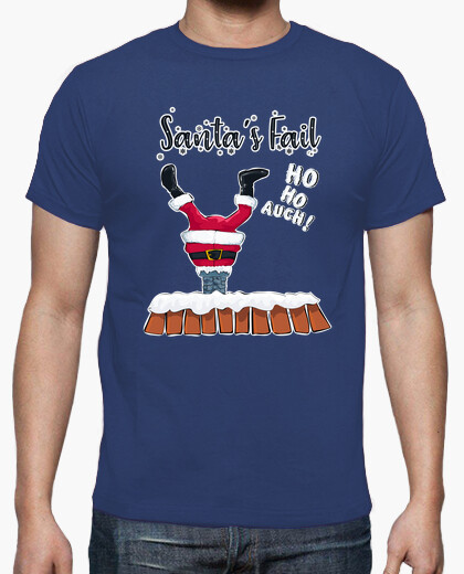 Santa claus fail t-shirt