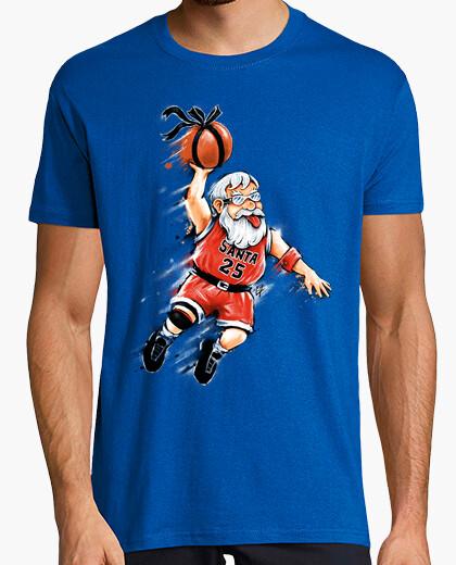 T-shirt santa dunk