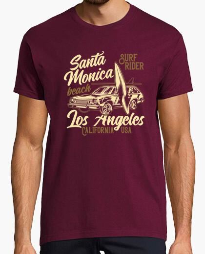 Camiseta Santa Monica Beach