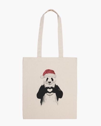 Bolsa Santa panda