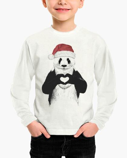 Ropa infantil Santa panda