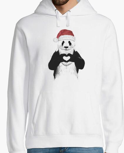 Jersey Santa panda