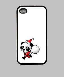 santa panda - cas d'iphone4 / 4s