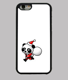 santa panda - case iphone4 / 4s
