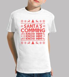 Santa viene lo conozco!