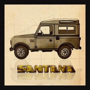 Camisetas Santana Vintage